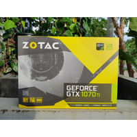 ZOTAC Nvidia Geforce GTX 1070Ti / 1070 Ti Mini 8GB DDR5 SECOND BEKAS