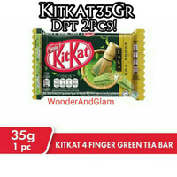 Kitkat Green Tea 4F 35Gram / Wafer Kit Kat Green Tea/Kitkat (2pcs)