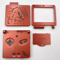 Gameboy Advance SP Groudon Limited Edition Shell Case Casing GBA SP