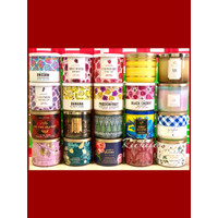 Bath & Body Works Aromatherapy 3-Wick Scented Candle BBW - GINGHAM