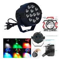 Lampu LED RGB Disko Proyektor Lampu Konser Shooting Video Efek Fill