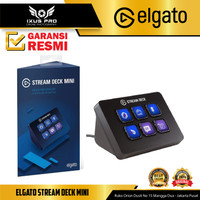 Elgato Stream Deck Mini Control Pad for Live Streaming