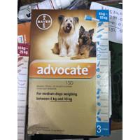 advocate anjing 4 10 ukuran 4kg sampai 10kg obat kutuanjing revolution