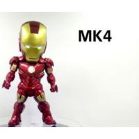 Action figure Iron Man Marvel Avengers bukan kids logic set 6pcs