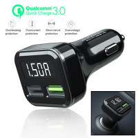 smart USB car charger fast charging QC 3 charger hp mobil quick charge