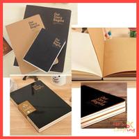 Buku Sketsa Our Story Begins Sketchbook Buku Gambar Ukuran A5