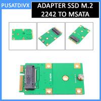 Adapter SSD NGFF M.2 2242 SATA to MSATA Converter Laptop HDD M2