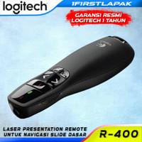 Wireless Presenter Logitech R400 Laser Pointer R 400 Original