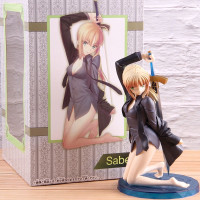 Fate Zero Saber Casual Outfit Battle Ver. Sexy Figure