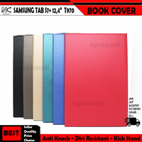 Samsung Tab S7+ 12.4 Inch T970 Book Cover Smart Flip Case Leather