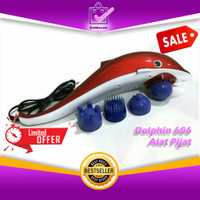 Dolphin 606 Alat Pijat Infrared Merah Massager Terapi Dolphin Lumba