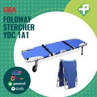 Tandu Lipat 2 Dengan Roda GEA YDC 1A1 / Foldaway Stercher GEA YDC 1A1