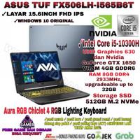 LAPTOP ASUS TUF FX506LH INTEL CORE I5-GEN 10-RAM 8GB-SSD 512GB-VGA-4GB