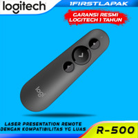 Laser Pointer Wireless Logitech R500 Laser Presentation Remote Red