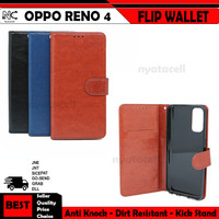 Oppo Reno 3 Pro 4 4F F17 Pro Flip Wallet Stand Case Cover Leather