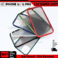 Iphone 12 12 Mini 12 Pro 12 Pro Max Case Matte Bumper Candy Hybrid