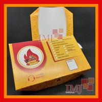 TERMURAH CETAK paper lunch box FULL COLOR/lunch M custom full colour.