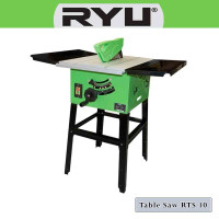 "Table Saw 10 inchi / Gergaji Meja Potong Kayu 10"" RYU RTS-10 2000 WATT"
