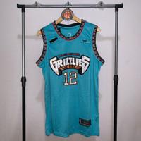 Jersey Basket Swingman NBA Memphis Grizzlies Ja Morant hijau tosca - S