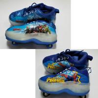 Sepatu Roda Anak Karakter Avenger Spiderman