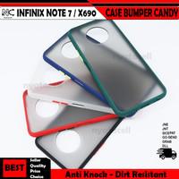 Infinix Hot 8 9 S4 S5 Lite Note 7 X655 X626 X652 X690 Hard Case Bumper
