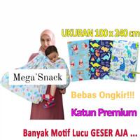 cukin motif / jarik modern / kain gendongan bayi karakter / baby