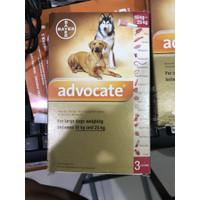advocate anjing 10 25 ukuran 10kg sampai 25 obat kutuanjing revolution