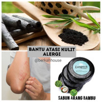 Longrich Natural Essence Bamboo Charcoal Soap