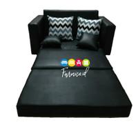 SOFABED sofa bed SOFA TIDUR PANJANG FULL BUSA MURAH free ongkir