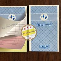 Buku Nota Kontan Kecil Rangkap 3 ply NCR / K3 - 25 Lembar @ 3 Rangkap