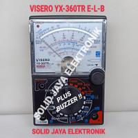 MULTI TESTER VISERO YX-360TR ANALOG YX360TR YX 360 TR YX360 AVOMETER