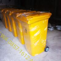 Tempat / tong sampah besar kapasitas 120 lter, varian - Hitam