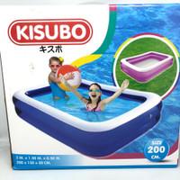 Kolam karet Renang anak Kisubo KSB200 panjang 2 meter