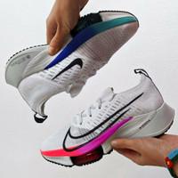 Sepatu Nike Air Zoom Tempo Next% White Hyper Violet Flash Crimson