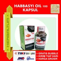 Kapsul Habbatussaudah Habbasyi Oil 100 kaps