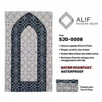 Sajadah Saku Anti Air | Sajadah Travel Lipat Alif Modern Wear SJD-0008
