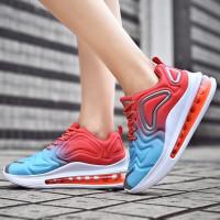 Sepatu Wanita import Fashion sport running Air Max 720 Murah premium - Rainbow, 36