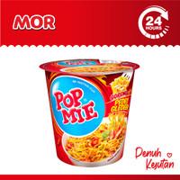 POP MIE Instan Cup Pedes Gledeek Rasa Ayam Pedas 75 gr