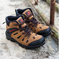 Sepatu Safety Boots Karrimore Sepatu Gunung Pria Outdoor Tracking