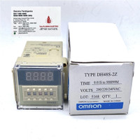 OMRON DH48S-2Z AC 220V DIGITAL PROGRAMMABLE TIMER DELAY RELAY