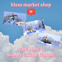 The Sims 4 Snowy Escape - Khusus Update