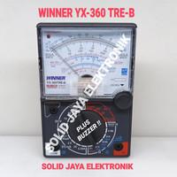 MULTI TESTER WINNER YX-360TRE-B ANALOG YX 360 TRE B YX360 AVOMETER ORI
