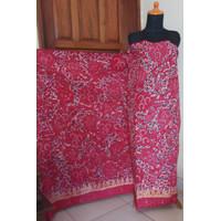 Batik Tulis Madura Pink Fresh