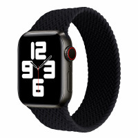 Apple Watch Strap SOLO Band BRAIDED SE 6 5 4 3 2 1 Silicone 42mm 44mm
