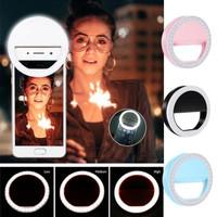 Ring fill light lampu selfie 3 mode LED rechargeable tiktok livestream