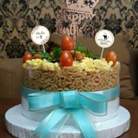 Plastik Mika Roll Pinggiran Cake 10cm x 1meter