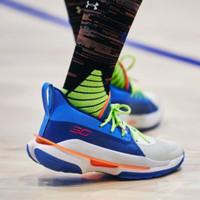 Sepatu Olahraga Pria Under Armour Curry 7 Premium Original