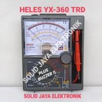 MULTI TESTER HELES YX-360TDR ANALOG AVOMETER YX 360 TDR YX360 TDR ASLI