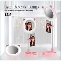 D2 Live Beauty Lamp / Retractable Live Light Fill Bracket / led lamp