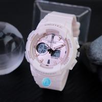 Jam Tangan Wanita Digitec Dual Time DG 2111 Original skmei - Baby Pink
